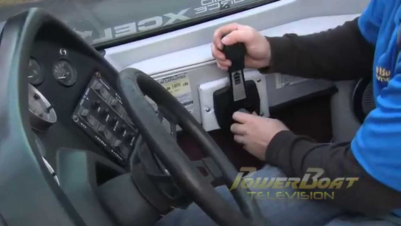 How To Replace A Shifter And Cables Powerboat Tv Youtube 1988 Bayliner Ignition Switch Diagram Wiring Schematic