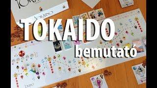 Tokaido - társasjáték bemutató