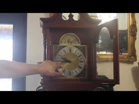 'EMPEROR' Grandfather 'The Newport' Model 120 8-Day Clock with Westminster Chime