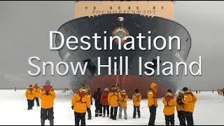 Destination Snow Hill Island