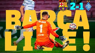 ⚽ BARÇA LIVE! | Barça 2-1 Dynamo Kyiv | Match Center