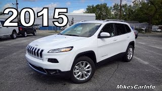 2015 JEEP CHEROKEE LIMITED 4x4(If my videos are useful to you, please send me a tip. I would really appreciate it. Click here: ..., 2014-10-04T20:38:12.000Z)