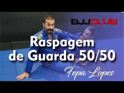 Raspagem de Guarda 50/50 (Fifty) com Fepa Lopes - Jiu Jitsu - BJJCLUB