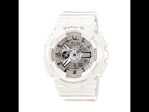 2a6b5b92090 Casio Baby-G BA-110-7A3 - YouTube
