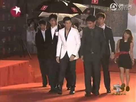 BIE_PONG ON RED CARPET SHANGHAI INTERNATIONAL FILM FESTIVAL 2011