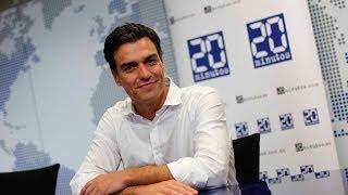 """Entrevista con Pedro Sánchez (PSOE): """"Con Tapias y Madina cenaría en una tasca"""""""