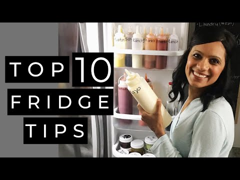 REFRIGERATOR ORGANIZATION TIPS | Clean and Organize Your Fridge Using These Easy Tips