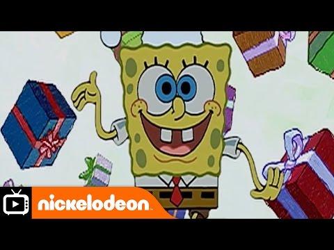 spongebob-squarepants-|-very-first-christmas-|-nickelodeon-uk