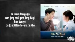 Download Chen (EXO) ft. Punch - Everytime Lyrics (easy lyrics)