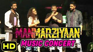 UNCUT LIVE Manmarziyan Concert Tour - Abhishek Bachchan | Tapsee Pannu | Vicky Kaushal |