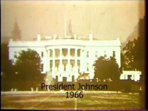 President Johnson Calls for Clean Air 1966 US Senate Committee on Public Works Film Report No. 2