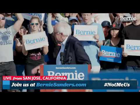 Bernie 2020 Rally In San Jose, California