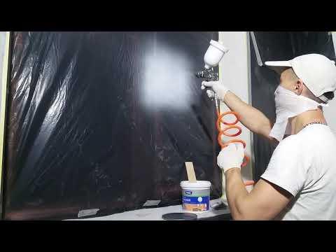 Краскопульт для покраски водоэмульсионной краской