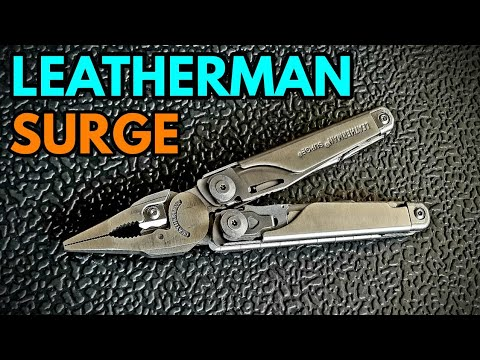 Leatherman Surge - Overview And Review