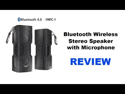 Wireless Bluetooth Speaker With Microphone - Wireless Speaker System REVIEW