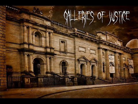 Haunted English Jail , Galleries Of Justice , Paranormal Activity Investigation Video, Scary Evp