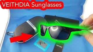✅ 8$ VEITHDIA men sunglasses from AliExpress Unboxing haul