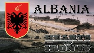 Hearts of Iron IV Albania Ironman 1 (first attempt start)