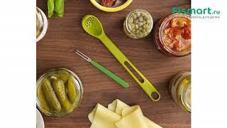 Покупки для кухни | Кухонные аксессуары: обзор Ложка+вилка для солений Joseph Joseph Scoop 10105