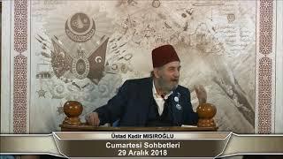 """Üstad Kadir Mısıroğlu'ndan, Ahmet Şimşirgil'e """"Timur"""" Reddiyesi"""