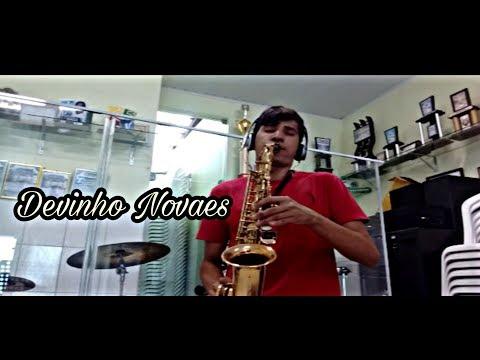 Alô dono do bar - Devinho Novaes - Saxofone Cover
