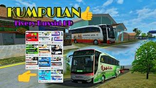Kumpulan livery bussid HD RESTU HARJAY dll