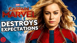 CAPTAIN MARVEL - Movie Review (Spoilers)