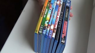 Маленька розпакування 9 Blu ray дисків / Unboxing 9 Blu ray disks