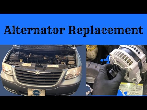 How to Replace the Alternator on a 2001-2007 Dodge Caravan/Chrysler Town & Country with 3.3L Engine