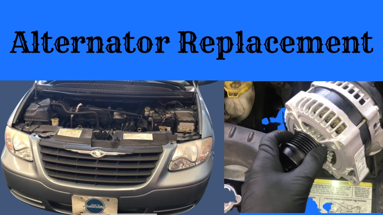 How To Replace The Alternator