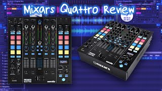 Mixars Quattro Mixer For Serato DJ Pro Review