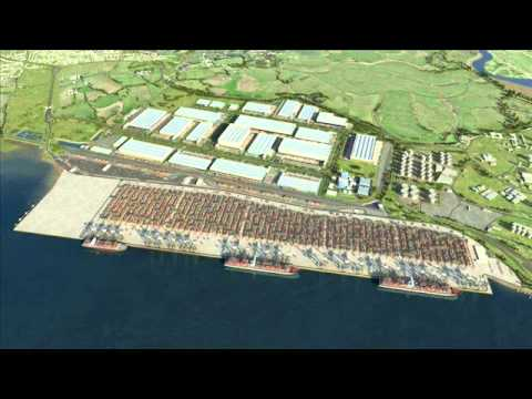 London Gateway- The UK's new deep sea port-Thurrock, Essex