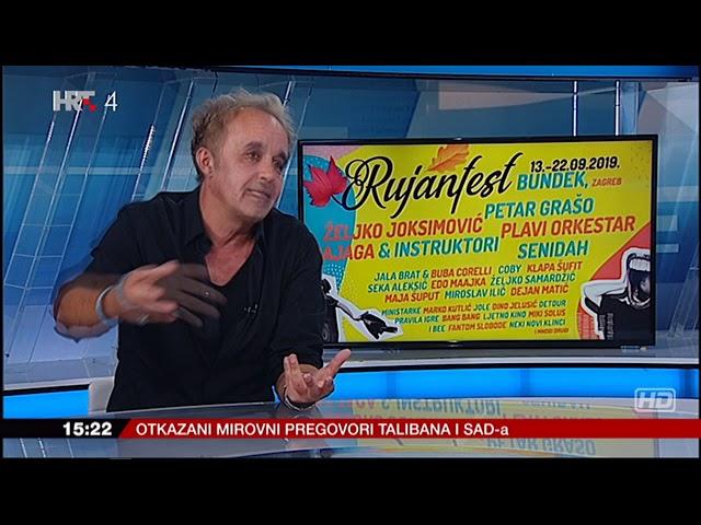 Hrvoje Horvat u 'Studiju 4' o koncertu Rite Ore.