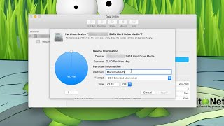 Mac OS X El Capitan DiskUtil Partitioning
