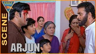 Arjun Movie    Rafi Angry on Balakrishna    Balakrishna, Laya    Eagle Hindi Movies