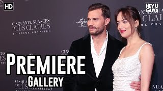 Fifty Shades Freed Premiere Photo Montage - Dakota Johnson, Jamie Dornan, Liam Payne