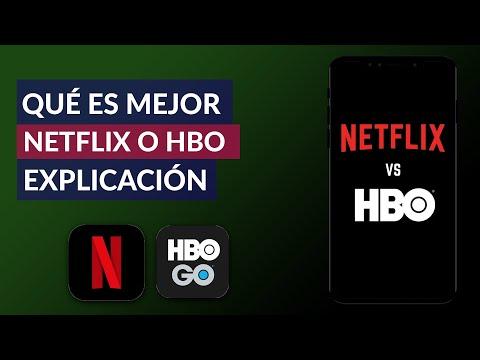 Qué es Mejor Netflix o HBO