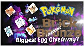 ROBLOX:Pokemon Brick Bronze 130+ EGG GIVEAWAY