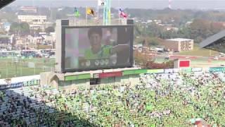 2018年ルヴァンカップ決勝 湘南ベルマーレvs横浜Fマリノス 湘南ベルマー...