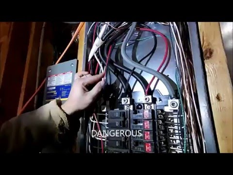 Wiring a Portable Generator into a house (How NOT to do it)