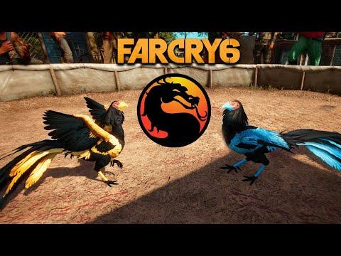 FAR CRY 6 - CockFighting Minigame (Mortal Kombat Edition) @ 4K 60ᶠᵖˢ ✔