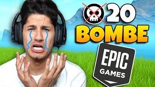 EPIC GAMES mi ha TROLLATO **ADDIO 20 BOMBE**