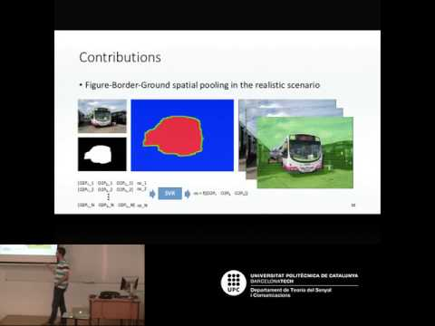 Visual Object Analysis using Regions and Local Features (by Carles Ventura, UPC 2016)