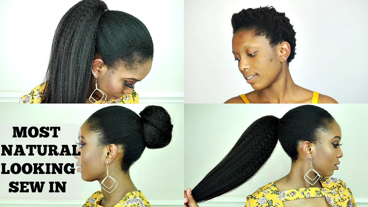 You Cant Tell Its Not My Hair Versetile Sew In With Short Hair Chochair Youtube