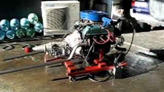 289 motor start up