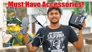 DJI Mavic Pro - Must Have Accessories!