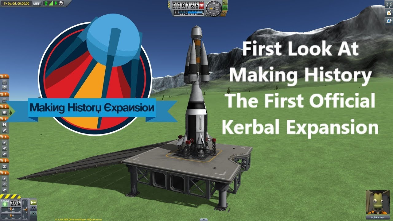 Kerbal Space Program - Making History - Preview