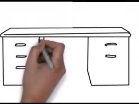 Disegnare Una Scrivania.Disegnare Scrivanie
