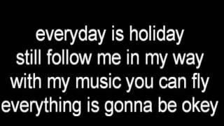 Lirik lagu Ndx aka~Holiday