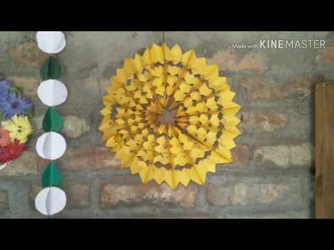 how to make #craftpepar star lantern kandil for diwali#christmas decoration handmed by khushbu singh